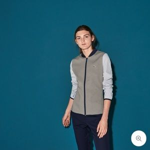 Lacoste SPORT Water-Resistant Midlayer Golf Jacket